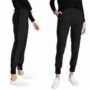 Philip Lim Black Wool Blend Trousers Jogger Pants